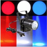 3W White Beam Lighting LED Spotlight Pinspot DJ Club Disco Bar Efekt sceniczny Xmas