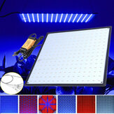 225 LED Grow Light Lamp Painel Ultrafino para Hidroponia Indoor Planta Veg Flor