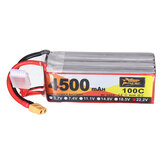 ZOP Power 22.2V 4500mAh 100C 6S Lipo Batterie XT60 Plug pour RC Racing Drone