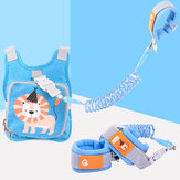 Reflective Anti Lost Device Travel Child Safety Harness Leash Bag Wristband Belt Baby Kids Safety Harness Rope