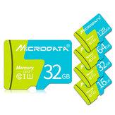 MicroData 8GB 16GB 32GB 64GB 128 GB Clase 10 Tarjeta de memoria TF de alta velocidad con adaptador de tarjeta para teléfono móvil iPhone Samsung Tableta GPS Cámara Coche DVR