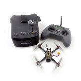 Eachine Novice-III V2 / V1 135 mm 2-3S 3-calowy dron wyścigowy FPV RTF & Fly więcej w / 5,8G 40CH EV800 Gogle 2,4 GHz Jumper T-lite CC2500 Nadajnik radiowy USA / CZ Magazyn V1.0 Wersja