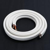 1/2/3/4 / 7m coibentato Rame Tubo 1/4 '' 5/8 '' Tubi Condizionatore Raccordi Tubo Coil Tubo