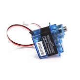 BLUEARROW AF D43S-6.0-MG Micro Metal Gear Digital Servo Para XK K130 Helicóptero RC