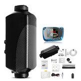 HCalory 12V 2kw Diesel Luchtverwarmer Luchtverwarming LCD Monitor Scherm Schakelaar met Geluiddemper