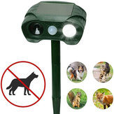 KCASA-505 Solar Ultrasonic Rat Repeller Animal Repeller Outdoor Garden Infrared Sensor Cats Dogs Foxes Rabbits Insects Repellent