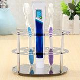 Uchwyt na szczoteczkę do zębów ze stali nierdzewnej Uchwyt do czyszczenia zębów Razor Organizer