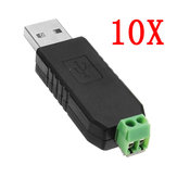 10pcs USB To RS485 Converter Module USB To TTL / RS485 Dual Function Dual Protection