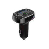 Car Charger Handsfree FM Transmitter Bluetooth MP3 Player Dual USB Charging