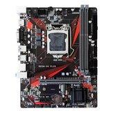 JGINYUE B85M-VH PLUS carte mère LGA1150 pour i3 i5 i7 Xeon E3 1150 processeur DDR3 16G 1333 / 1600MHZ mémoire M.2 NVME USB3.0 carte mère M-ATX