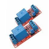 2Pcs 5V 1 Channel Level Trigger Optocoupler Relay Module For Arduino