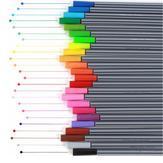 6/12/24 Colori 0,4 mm Gancio Set di penne per pennarelli linea Fineliner colorate