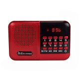 NONTAUS S61ポータブルFMラジオTFカードスピーカープレーヤー
