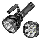 LUMINTOP GT4 4 * XHP70.2 25000 lm 1370 metrów mocny długi strzał 18650 latarka ultra jasny silny reflektor latarka LED