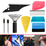 8-in-1 Autoraam Tint Tools Kit voor Vinyl Film Tinting Multikleuren