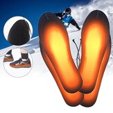 USB Heated Shoe Insoles Feet Warm Sock Pad Mat Electrically Heating Insoles Washable Warm Thermal Insoles