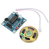 3pcs ISD1820 3-5V Voice Module Recording And Playback Module  Control Loop / Jog / Single Play Geekcreit for Arduino - products that work with official Arduino boards