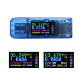 RUIDENG AT34 USB3.0 IPS HD Renk Ekran USB Test Cihazı Gerilim Akım Kapasitesi Enerji Güç Eşdeğer Empedans Sıcaklık Test 30.00 V 4.000A