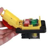 KEDU KJD22 4Pin/6Pin 250V 12(10)A Electromagnetic Waterproof Push Button Switch