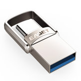 EAGET CU20 USB3.0 Type-C USB Pendrive OTG Type C 16GB 32GB 64GB Metal USB Flash Drive Plugue Dupla