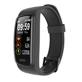 CORN CB01 IP68 Waterproof SpO2 Heart Rate Blood Pressure Monitor Sport Route Track Weather Forecast Smart Watch