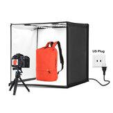 PULUZ PU5060 60cm Folding Portable 60W 5500K White Light Photo Lighting Studio Shooting Tent