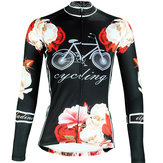 Women Cycling Clothing Jersey Sportswear Long Sleeve Bicycle Racing Clothing Shirts
