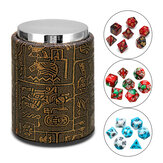 7 Pcs Polyhedral Dices With Dice Cup Role Playing Game Dices Set RPG MTG Desk Game Multisided Dices