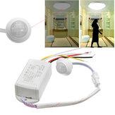 220V 5-8M Sensor de Movimiento de Cuerpo de infrarrojo IR interruptor de Control de Lámpara inteligente