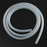 Tubulação Silicone translúcida do produto comestível de 1m Comprimento Mangueira tubo interno do diâmetro de 1mm a de 8mm