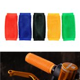 Motorcycle Anti-slip Soft Rubber Handlebar Grip Cover Motocross Dirt Pit Bike