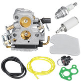 Carburetor Carb Kit For C1T-W33 Carburetor 4 Zama Husqvarna 240 240E 235 235E