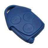 3 Buttons Remote Key Case Shell With VL2330 Battery For Ford Transit MK7