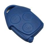 3 Botões remoto Chave Caso Shell Com VL2330 Bateria Para Ford Transit MK7