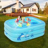 120x80x35cm piscines gonflables maison jardin familial bassin de natation natation matelas d'air