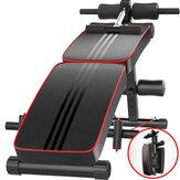 Banco Multifuncional Sit-up Abdominal Machine Dobrável 10 Gear Trainer Ajustável com Travesseiro Home Academia Aptidão Equipamento