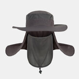 Removable Outdoor Quick-drying Sunscreen Waterproof Fisherman Hat Breathable Bucket Hat