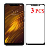 3PCS Bakeey Anti-explosion 9H Tempered Glass Screen Protector for Xiaomi Pocophone F1