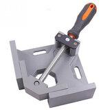 Aluminium Einhand 90 Grad rechtwinklig Clamp Winkel Clamp Holzbearbeitung Frame Clip rechtwinklig Folder Tool