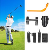 5 Pcs Golf Corrector Set Arm Posture Leg Belt Swing Practicing Guide Golf Training Equipment