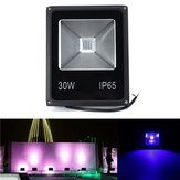 30W UV LED Projector Flood light 365/375/385/395/405/415NM Outdoor Waterproof Lamp AC85-265V