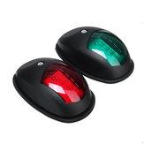 10V-30V LED Segnale laterale lampada Luci di navigazione per camion rimorchio per barche Van Red Green