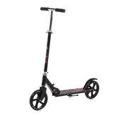 Scooter plegable de aleación de aluminio de 3 niveles, freno de disco de altura ajustable, scooter de dos ruedas para adultos