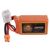 URUAV GRAPHENE 3S 11.1V 850mAh 110C Lipo Battery XT30 Plug for FPV RC Racing Drone