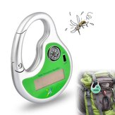 Solar Charging Portable Ultrasone Compass Mosquito Repellent Electronic Mosquito Dispeller