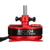 Racerstar BR2304 1850KV 2-3S motore senza spazzola per modello di aereo RC