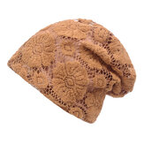 Damen Spitze Breathable Sunshade Beanie Hut