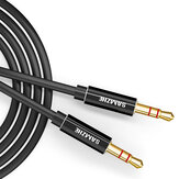 SAMZHE AUX Cable 3.5mm Audio Cable 3.5mm Jack Alto-falante Cabo para fone de ouvido Laptop Music Player Telefone