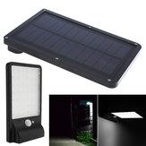 ARILUX® solare Powered 42 LED Impermeabile Light Control & PIR Sensor Wall lampada per Outdoor Garden