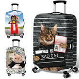 Honana 3D Spoof Cat Elastische Bagage Cover Trolley Case Cover Duurzaam Koffer Protector voor 18-32 Inch Case Warme reizen accessoires